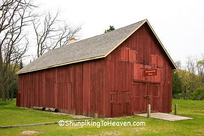Hyde Blacksmith Shop, Glen Haven Village Historic District, Leelanau County, Michigan