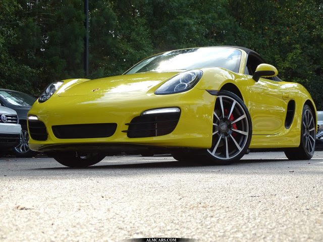 Pre Owned 2013 Porsche Boxster S Rwd Convertible