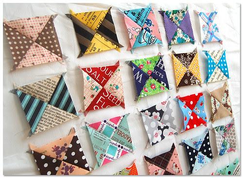 Mini quilt in progress