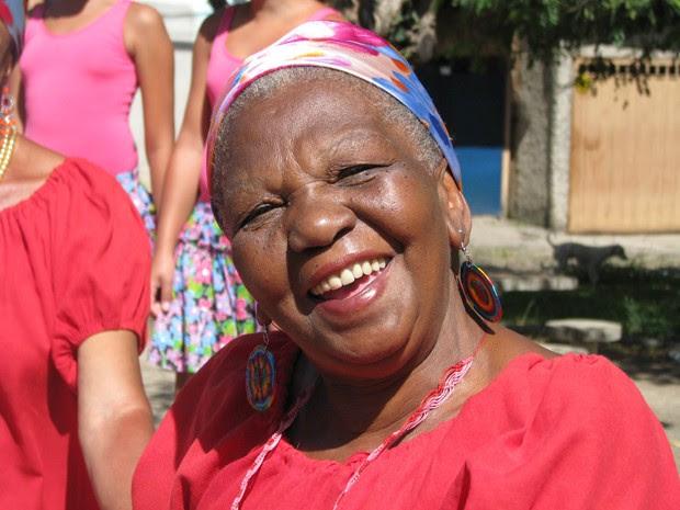 Dona Valdete, criadora do grupo Meninas de Sinhá (Foto: Patrícia Lacerda/Meninas de Sinhá)