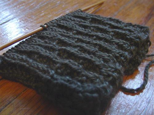 Jules' sock cuff