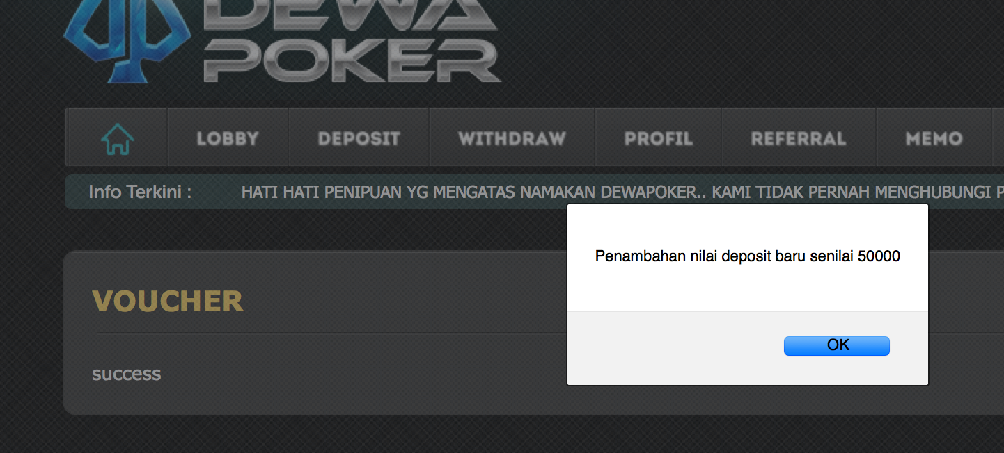 Poker Sejati Dewa Poker 88 Penipu