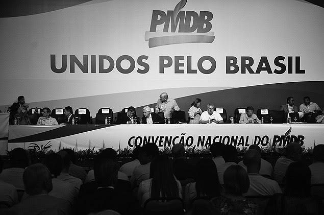 BRASILIA, DF, BRASIL, 12/03/2016,, Convenção Nacional do PMDB, Eliseu Padilha Sec., Execurivo do PMDB durante Abeertura da convenção em Brasilia:. (Foto: Renato Costa/Folhapress, PODER)