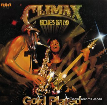 CLIMAX BLUES BAND gold plated
