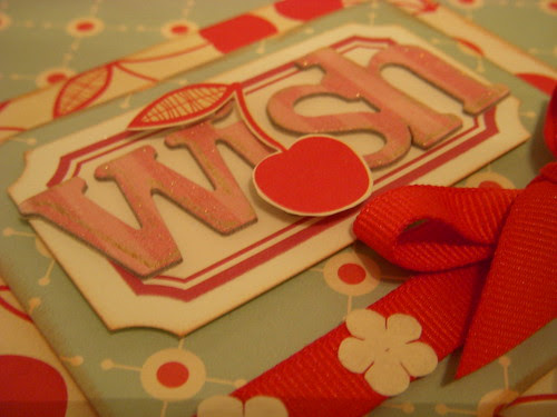 Wish Card Close up