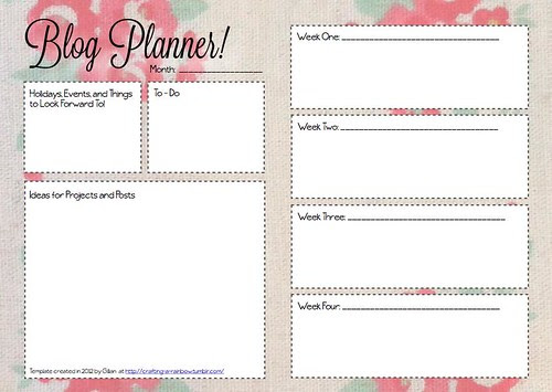 Blogging and Planning: Why I