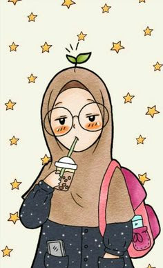Anime Gambar Kartun Muslimah Hipster Anime Wallpapers