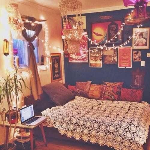 Small Boho Chic Small Boho Bedroom Ideas