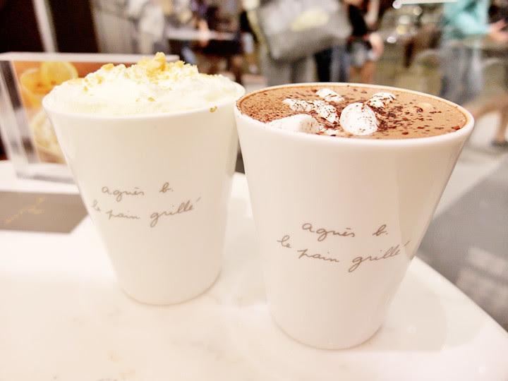 Agnès B cafe drinks