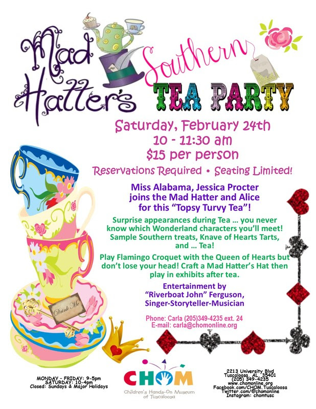 Mad Hatters Tea Party Registration Form Childrens Hands On