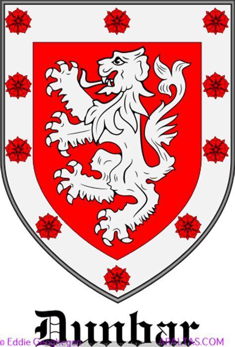 Dunbar coat of arms, Dunbar family crest, Dunbar heraldry