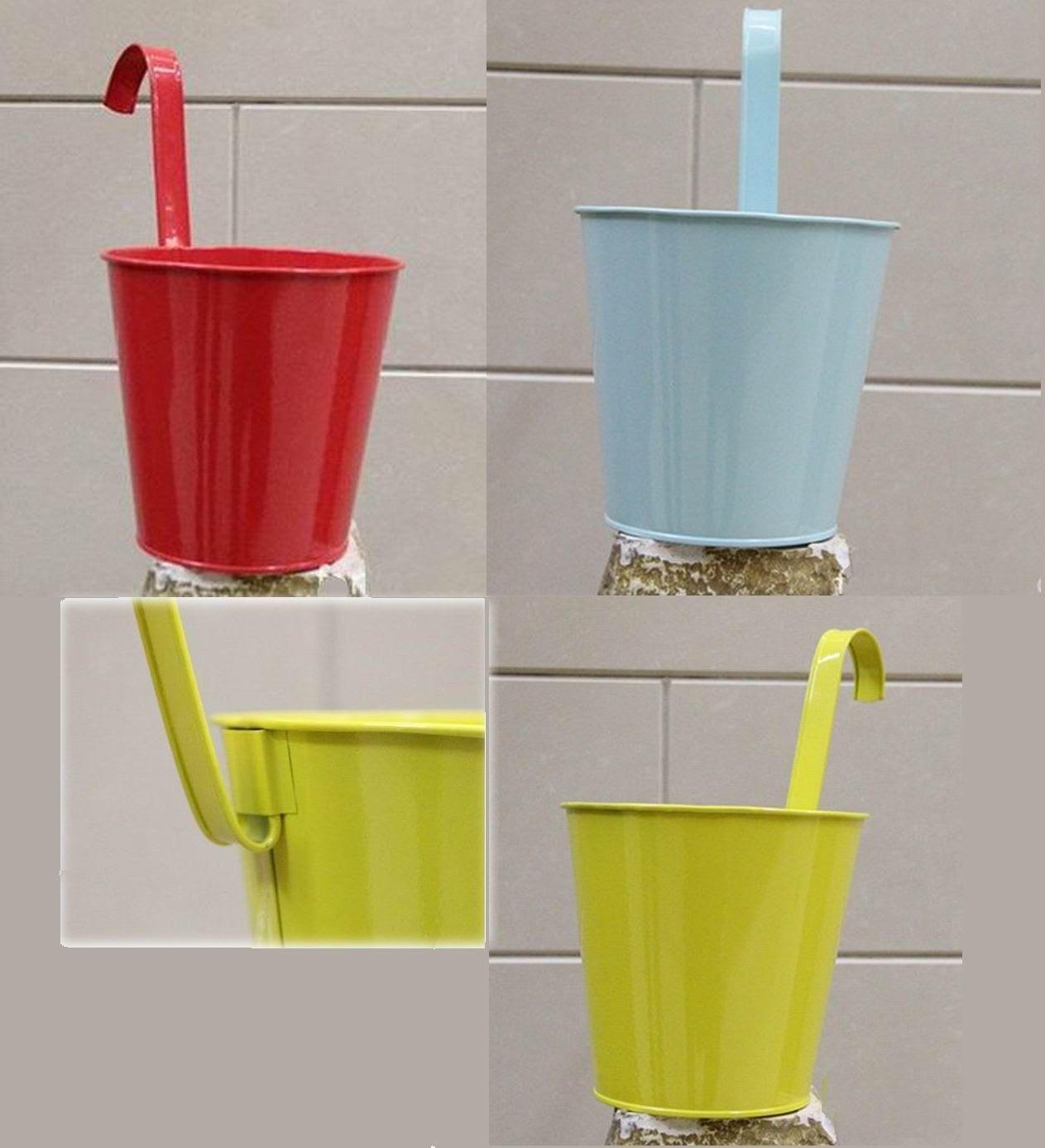 Buy cheap garden decor planter metal pot vase kids home backyard ...