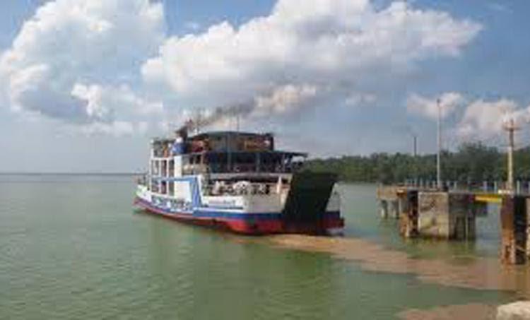 Sumsel Nian Kapal Feri Ke Pelabuhan Tanjung Kalian Muntok Bangka