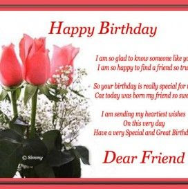 Birthday Wishes For Best Friend Who Is Far Amelia Hicks