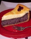 Mákos-tejfölös torta