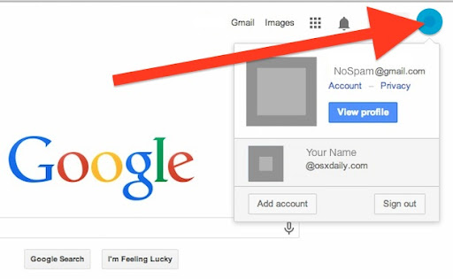 Change the order of how gmail accounts show up - Gmail Help