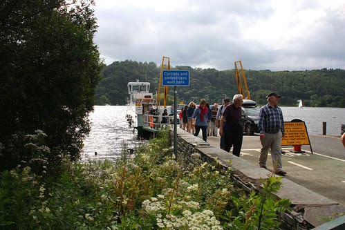 Ferry from Bowndess on Windermere