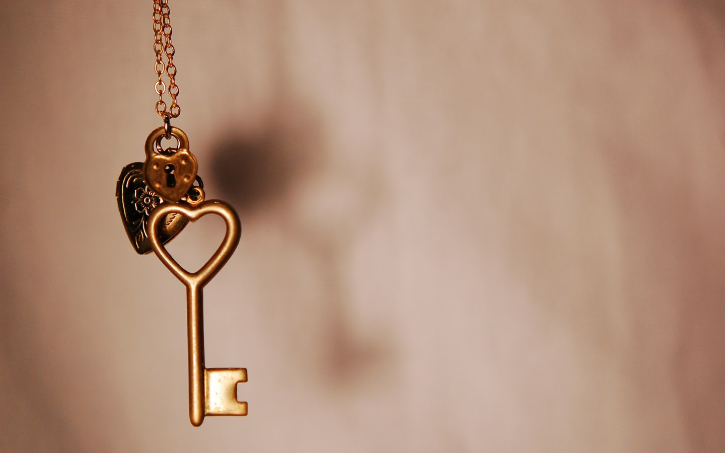 Key To My Heart Necklace Lock Key Charms On Sterling Silver Lock And
