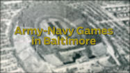 Army-Navy games in Baltimore
