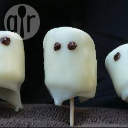 Photo recette : Fantômes en chamallows