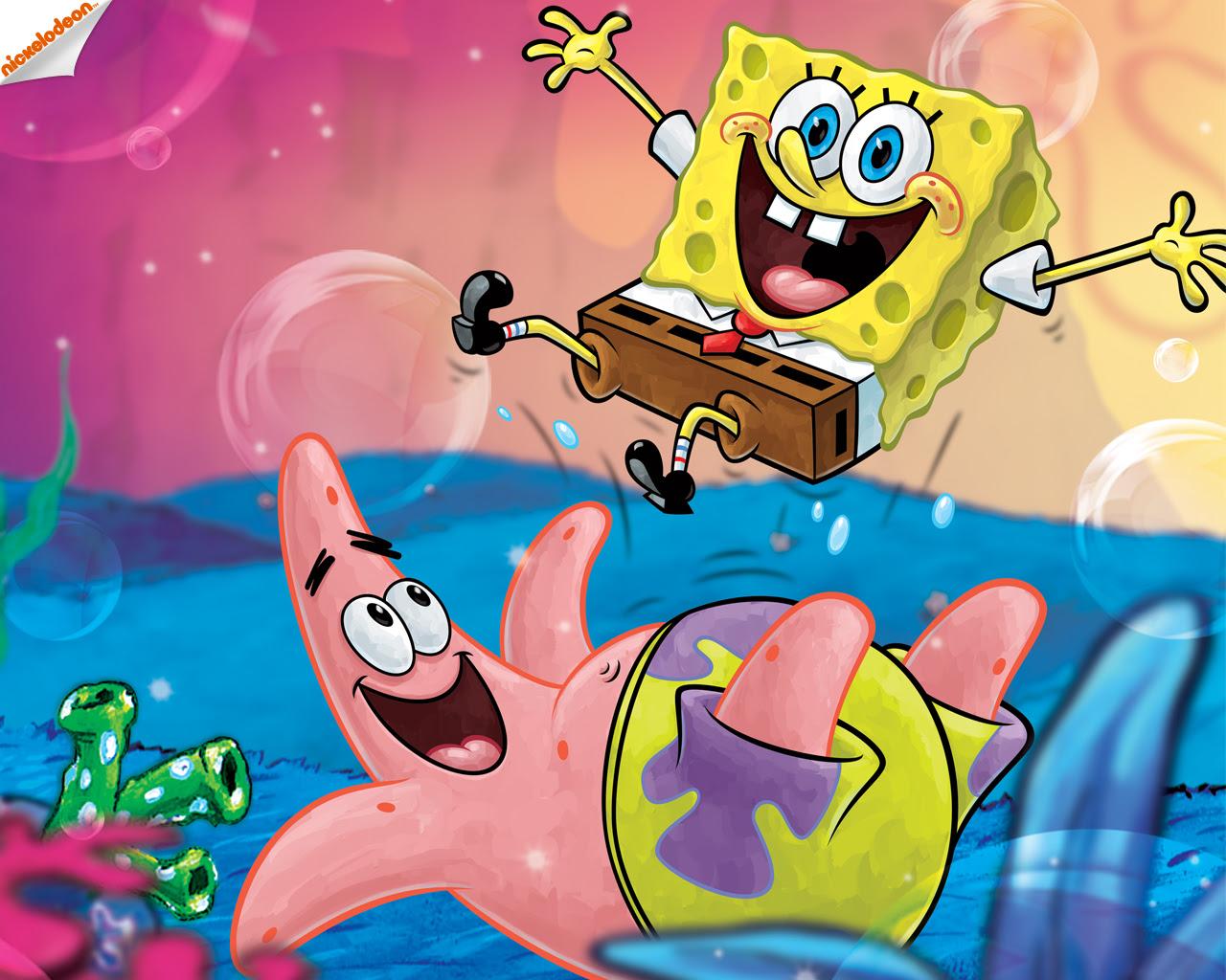 Fantastis 11 Gambar Wallpaper Spongebob Dan Patrick Richa Wallpaper