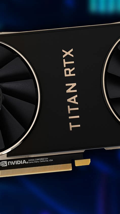 wallpaper nvidia titan rtx graphics card   tech