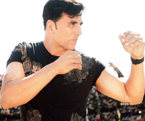 Akshay Kumar in the movie