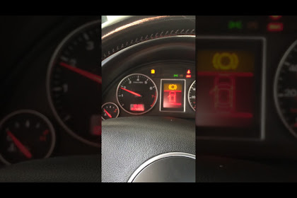 Audi A4 B6 Check Engine Light