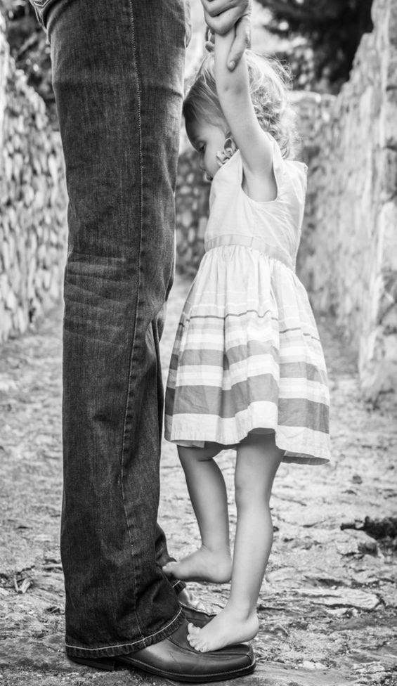 I remember standing on my dad's steel toed shows while he walked just as if it were yesterday ☺️