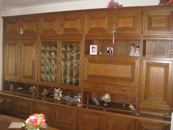 wohnzimmerschrank eiche rustikal in dortmund