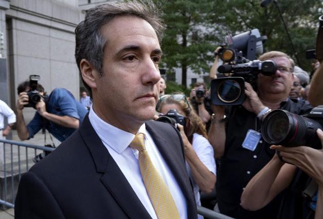 Michael Cohen a porté un coup retentissant à... (PHOTO AP)