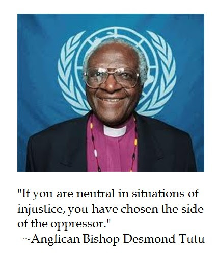 Desmond Tutu injustice
