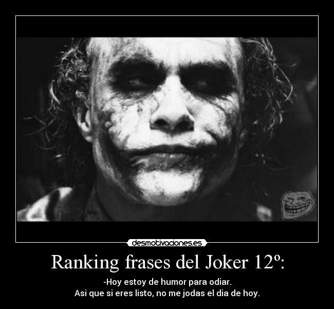 Group Of Mejores Frases Joker Guason