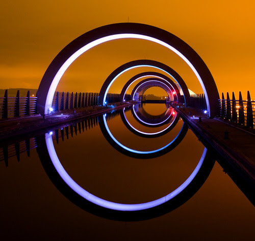That shot of the Falkirk Wheel por Semi-detached