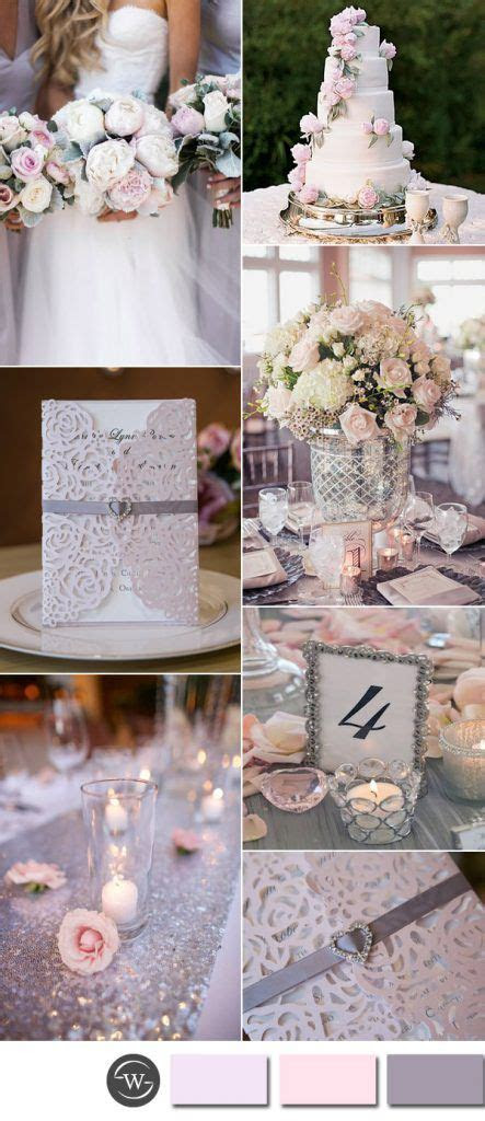 Best 25  Pink silver weddings ideas on Pinterest   Blush