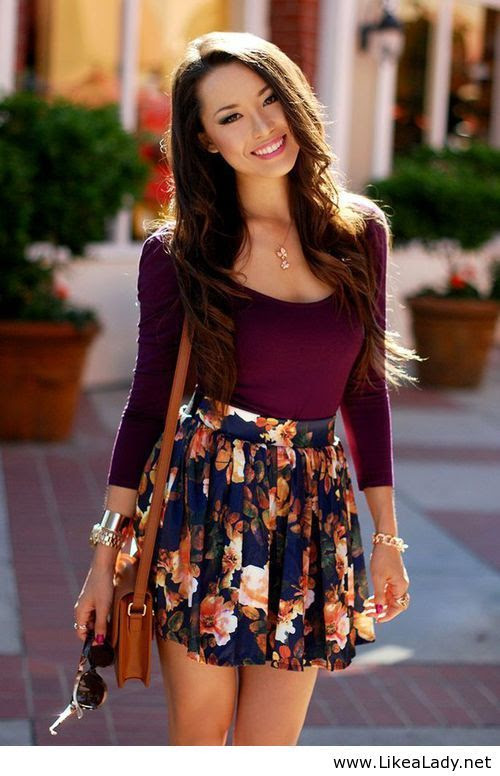 Cute end of summer outfit with tights of course