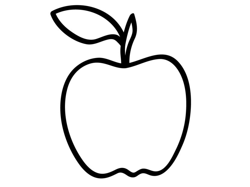 Apples Clipart Black And White Free Download Best Apples Clipart