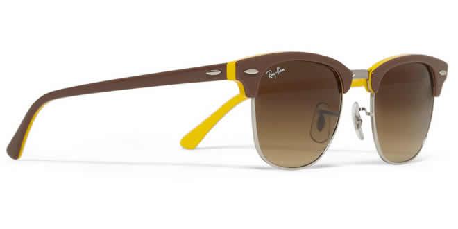 fc40081e874ec Ray-Ban Clubmaster Two-Tone Sunglasses - THE LIFESTYLE SPREAD