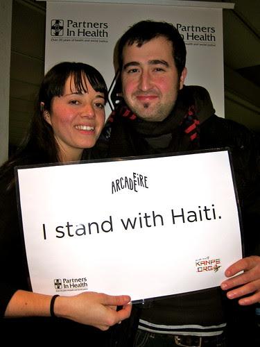 Stand with Haiti