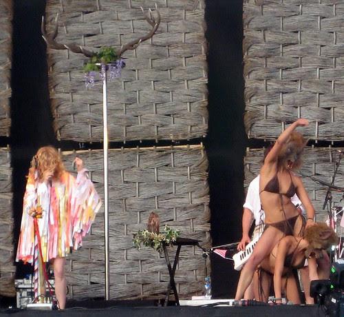 8 - Goldfrapp and Wolf Women - Lovebox 2008