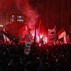 Al-Ahly protests