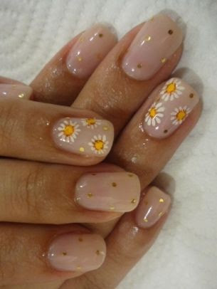 New Inspiring Nail Art Ideas - Inject a wow beauty factor into your look with one of these new inspiring nail art ideas. Polka dots, stripes and animal prints add a youthful and modern feel to your nails.