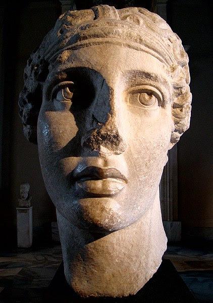 File:Head of Poetess Sappho Istanbul.JPG