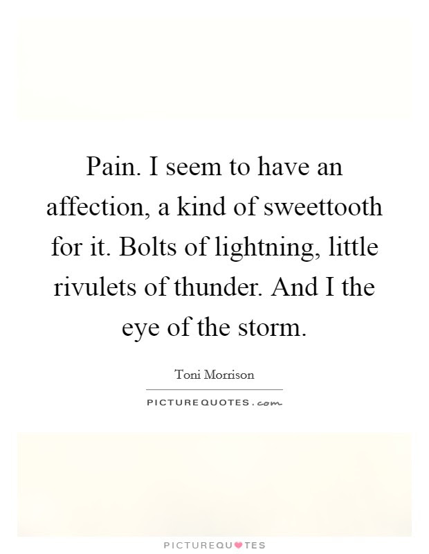 Eye Of Storm Quotes Sayings Eye Of Storm Picture Quotes