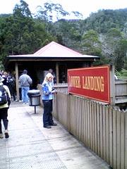 Lower Landing Station on ABT Railway