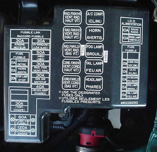 NMEO_4565 2002 Mitsubishi Eclipse Fuse Box Diagram ...