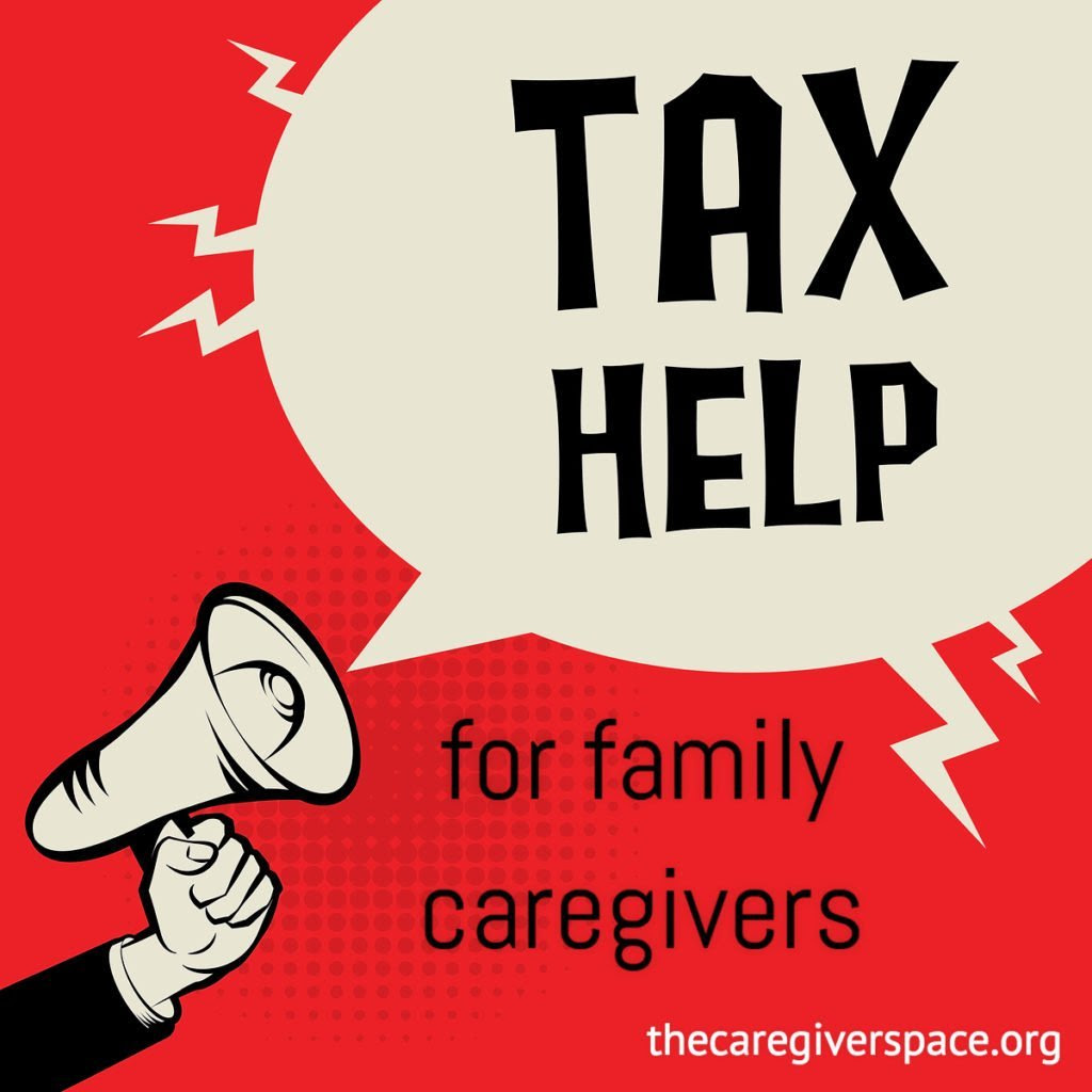 Tax breaks for caregivers   The Caregiver Space