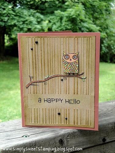 Owl Guy Card