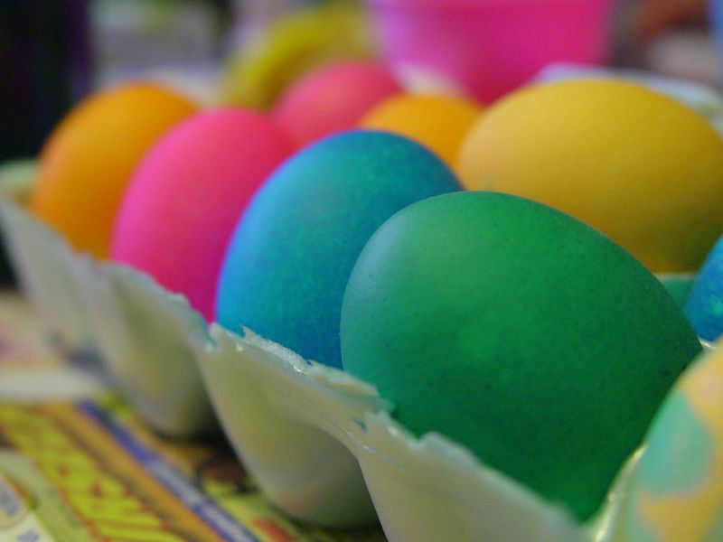 easter eggs. to Eat Your Easter Eggs