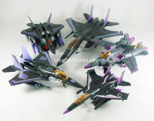 Transformers Skywarps modo alterno